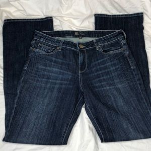 EUC Kut from the Kloth Karen Baby Bootcut Jeans